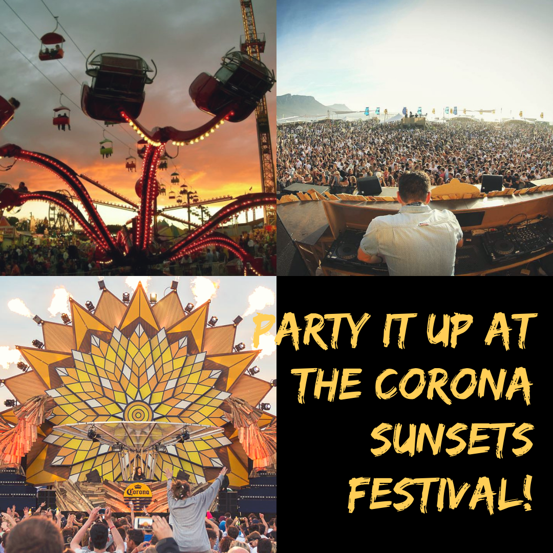 South African Events: Corona Sunsets Festival